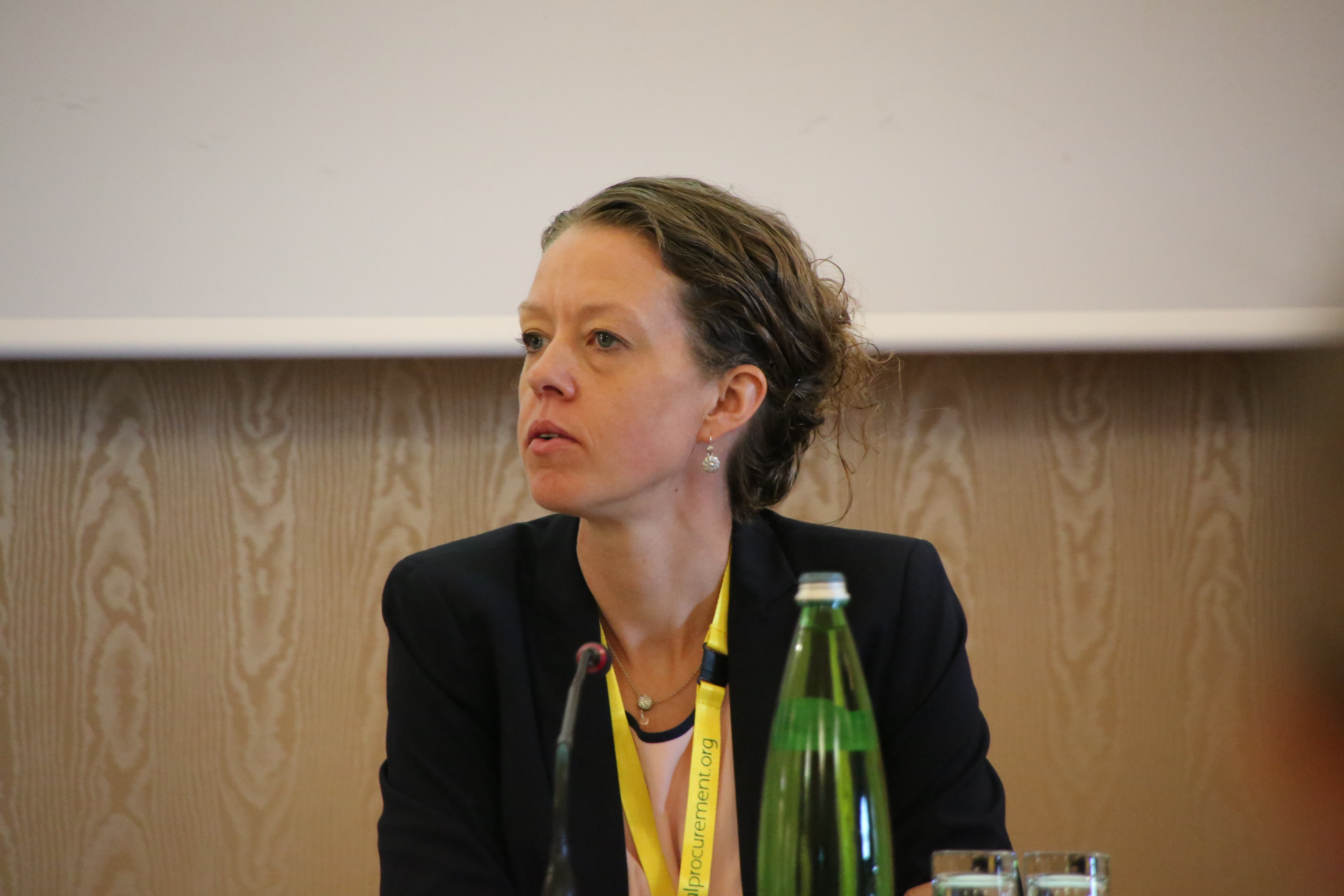 Grith Skovgaard Olykke at the 2016 Global Procurement Conference in Rome.