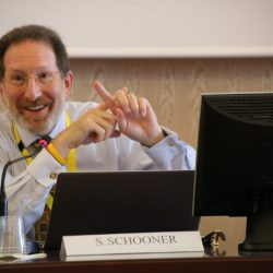 Steven Schooner at the 1st Global Procurement Conference in Rome's Villa Mondragone.